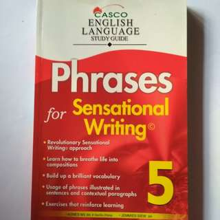 Phrases for Sensational Writing 5