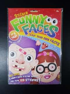 BN Funny Faces Sticker Book