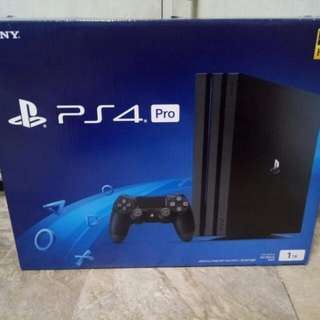 Brand new ps4 pro 1tb 4k hdr