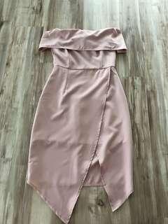 sabrina pink dress