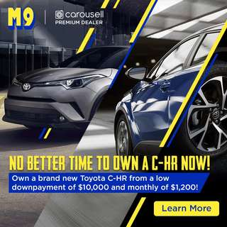 M9 International Pte Ltd | No better time to own a C-HR now!