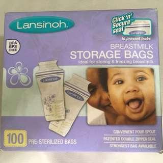 Lansinoh Breastmilk Storage Bags 100pcs