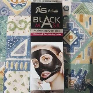 Ashley Black Mask with whitening
