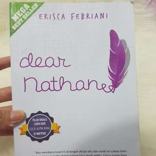 Preloved novel dear nathanea