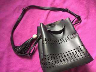For sale: Pre-loved bag with pouch inside