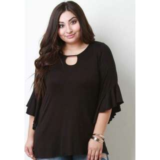 NEW ARRIVAL LEAINE TOPS (PREORDER LARGE TO XXL FRAME CAN FIT)