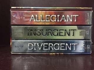 Divergent Series (Divergent, Insurgent, Allegiant)