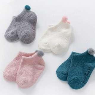 Baby Socks Pompom