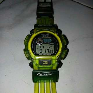 Casio DW9000 strap jelly