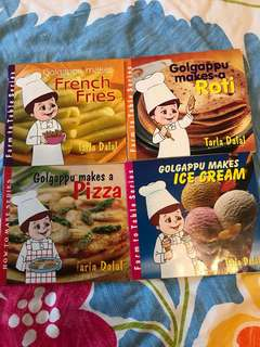 Very interesting Recipe Books for Young Chefs aged 4-6 yrs Old