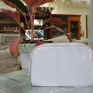 Jual pouch cantik YSL putih