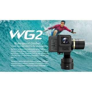 Feiyu WG2 Waterproof Wearable Gimbal Suitable for GoPro HERO 3+, 4, 5, 6, Session, Yi Lite, 4k, 4k+, SJ cam