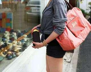 全新 4色摺疊單肩袋 購物袋 旅行輕便折疊包 100%new 熱賣!
