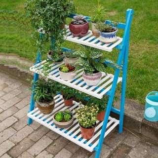 Plant Stand Flower Pot Rack Gardening Shelf
