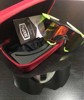 100% Speedcraft Cycling Glass