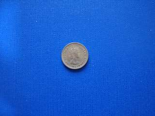 British Borneo Queen Elizabeth II 5 cents  1961H