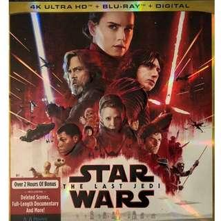 Star Wars Last Jedi 4K UHD
