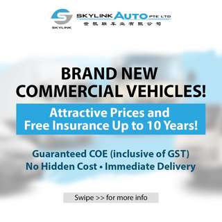 Skylink Auto | Brand New Commercial Vehicles!