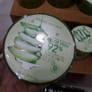 Nature republic aloe vera sooting gel