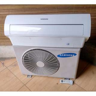 Samsung 1hp air cond r410 ar09