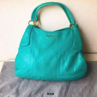 AUTHENTIC MIU MIU Hobo Shoulder Bag