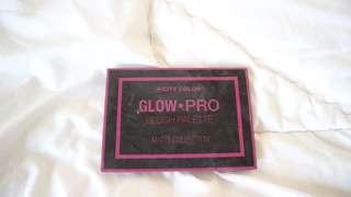 Glow pro brush pallette