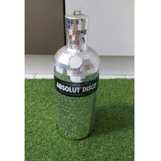 LIMITED EDITION DISCO ABSOLUT VODKA (SILVER)