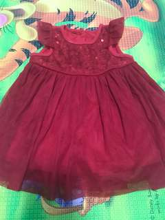 Mothercare Baby Girl Dress 0-3 mths