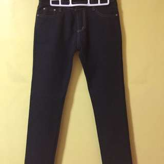Straight Cut Jean (Black)