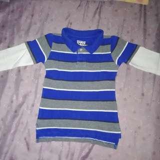 Oshkosh longsleeve polo shirt for boys