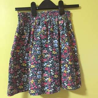 Cotton On Mini Skirt (Floral)