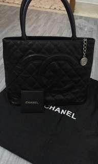 Preloved Chanel Caviar Medillion Tote