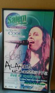 Autographed Concert Posters