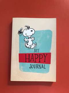 Snoopy Happy Notebook Journal