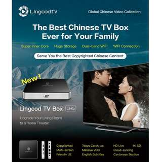 Lingcod Android TV Box