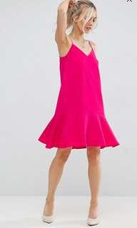 New Look Peplum Hem Cami Dress