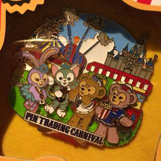 Disney Pin 迪士尼襟章 徽章 LE Pin Duffy StellaLou Gelation Shelliemay