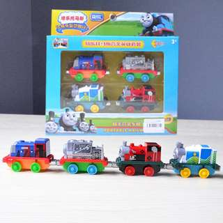Thomas and Friends Tank Engine Train Die Cast 4 pcs Play set
