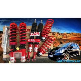 GAB Adjustable High Low +  BodyShift Honda Jazz GD