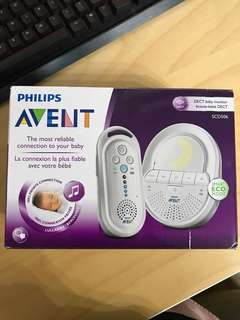 Philips avent baby monitor SCD506 #Easter20