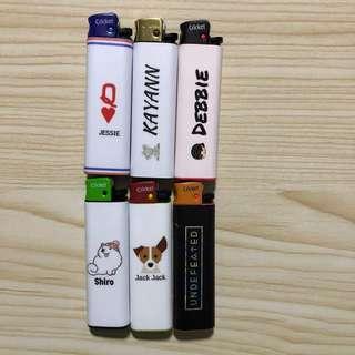 Customised lighters