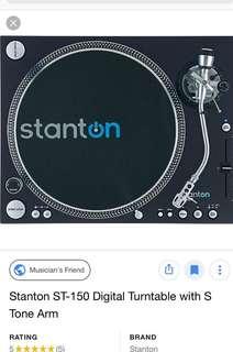 Stanton Turntable st-150