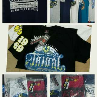 Branded T-shirt and Sando's