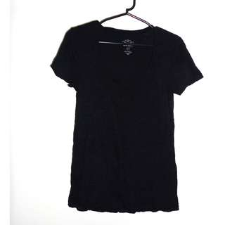 Charity Sale! Authentic Old Navy Women's Short Sleeve Black T-shirt Size Small Cotton