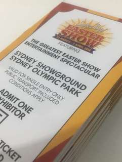 Easter show tickets