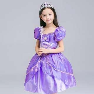 Princess Rapunzel Dress