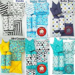 Cute Baby Comforter Set For Baby Boy & Girl With 4 pc pillows