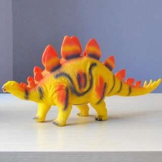 Jurassic Park Toy Plastic Big Dinosaurs Model Toys with Sound Stegosaurus