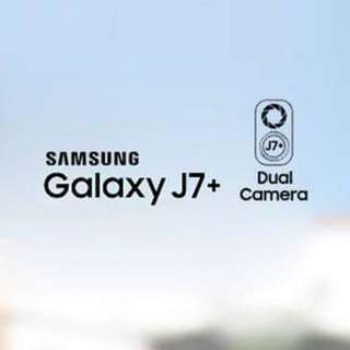 Samsung Galaxy J7+ ( Dual Camera )