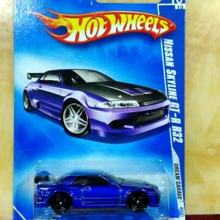 Hotwheels Nissan Skyline R32